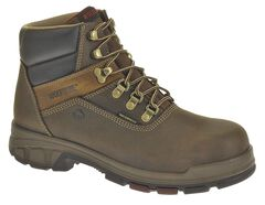 """Wolverine Cabor 6"""" Waterproof Work Boots - Composition Toe, , hi-res"""