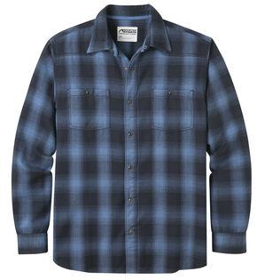 Mountain Khakis Men's Saloon Navy Flannel Shirt, Navy, hi-res