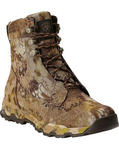 "Ariat FPS Kryptek Waterproof & Insulated 7"" Lace-Up Hunting Boots - Round Toe, Camouflage, hi-res"