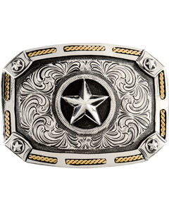 Stetson Star Buckle, , hi-res