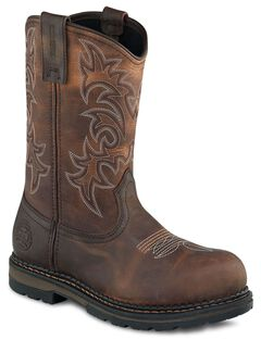 Red Wing Irish Setter Ramsey Pull-On Work Boots - Steel Toe, , hi-res