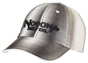 Nocona Plaid Front Cap, Black, hi-res