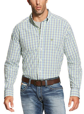 Ariat Men's Multi Brett Long Sleeve Shirt - Big and Tall, Multi, hi-res