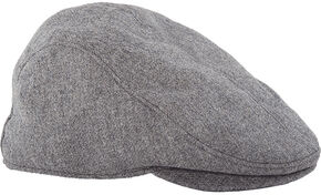 Stormy Kromer Men's Cabby Cap, Lt Grey, hi-res