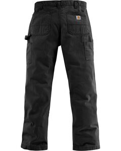 Carhartt Washed Twill Dungaree Relaxed Fit Work Pants, , hi-res