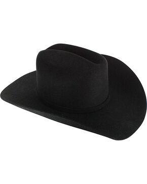 Cody James® Men's 3X Wool Western Hat, Black, hi-res