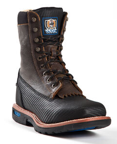 Cinch® WRX Men's Waterproof Steel Toe Lace-Up Work Boots, , hi-res