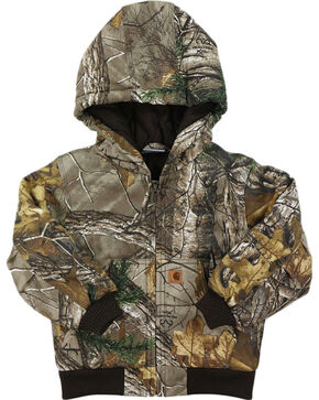Carhartt Toddler's Realtree Xtra Camo Jacket, Brown, hi-res