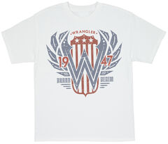 Wrangler Men's Denim Screen Print T-Shirt, , hi-res