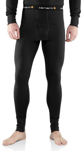 Carhartt Base Force Cold Weather Weight Underwear - Big & Tall, Black, hi-res
