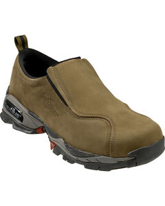 Nautilus Men's Moss ESD Slip-On Work Shoes - Steel Toe, , hi-res
