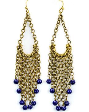 Julio Designs San Antonio Earrings, Blue, hi-res