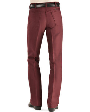 Wrangler Wrancher Dress Jeans, Burgundy, hi-res