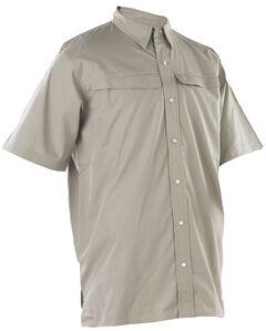 Tru-Spec Men's Beige 24-7 Pinnacle Short Sleeve Shirt , , hi-res
