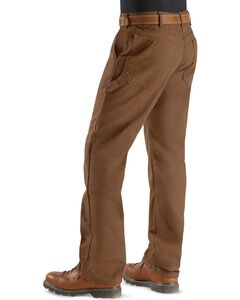 Dickies Twill Duck Flannel Lined Carpenter Work Pants, , hi-res