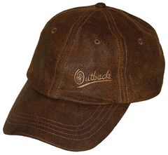 Outback Trading Co. Leather Slugger Cap, , hi-res