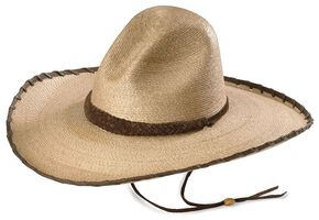 Larry Mahan 30X Cherokee Sloped Straw Cowboy Hat, Natural, hi-res