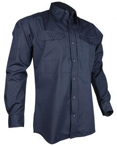 Tru-Spec Men's Navy 24-7 Long Sleeve Dress Shirt , , hi-res