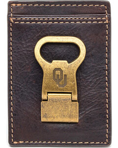 Jack Mason University of Oklahoma Gridiron Multicard Front Pocket Wallet , , hi-res