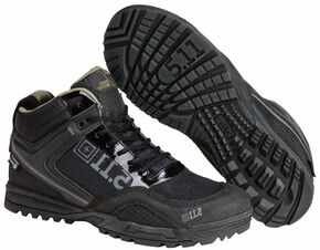 5.11 Tactical Men's Range Master Waterproof Boots, Black, hi-res