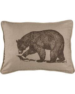 HiEnd Accents Printed Walking Bear Pillow, , hi-res