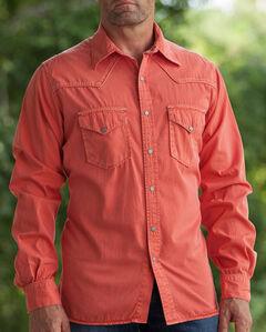 Ryan Michael Men's Paprika Pick Stitch Silk Gabardine Shirt , , hi-res