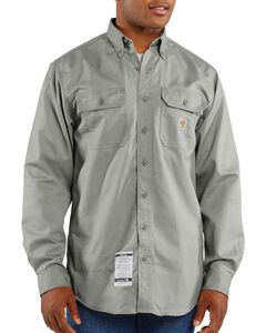 Carhartt Flame Resistant Two-Pocket Work Shirt - Big & Tall, , hi-res