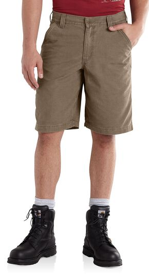 Carhartt Ardmore Khaki Shorts, Dark Brown, hi-res