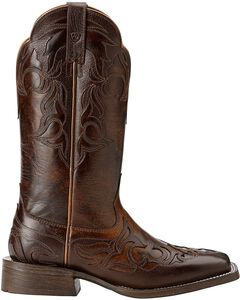 Ariat Cassidy Wingtip Cowgirl Boots - Square Toe, , hi-res