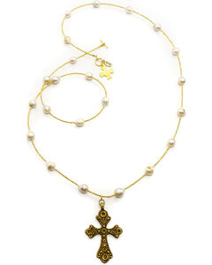 Julio Designs Doña Fortuna Specter Pearl Necklace, , hi-res