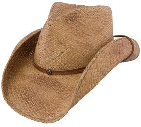 Charlie 1 Horse Pacifico Straw Cowboy Hat, Tea, hi-res