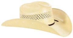 Cody James Men's 50X Straw Cowboy Hat, , hi-res