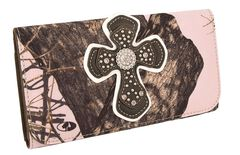 Blazin Roxx Mossy Oak with Cross Overlay Wallet, , hi-res
