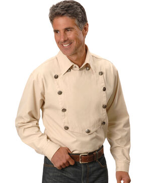 Rangewear by Scully Frontier Engineer Shirt, Natural, hi-res