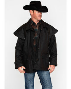 Outback Trading Co. Short Oilskin Duster, , hi-res