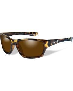 Wiley X Moxy Polarized Bronze Gloss Demi Sunglasses , , hi-res