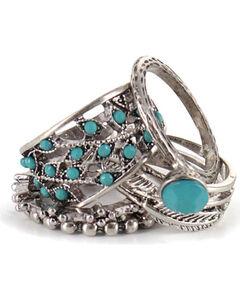 Shyanne Women's Ring Set, Silver, hi-res