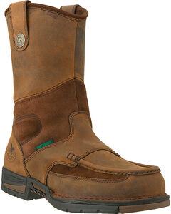 Georgia Men's Athens Steel Toe Wellington Boots, , hi-res