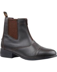 Dublin Kids' Foundation Zip Paddock Boots, , hi-res