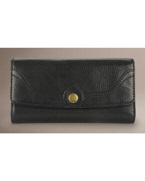 Frye Campus Large Wallet, Black, hi-res