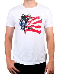 Cody James Men's American Rodeo Rider Graphic Tee , , hi-res