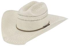 Justin Bent Rail Garrett Straw Cowboy Hat, , hi-res