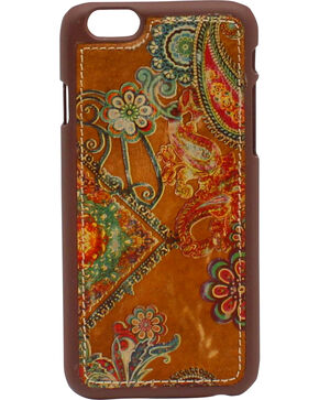 Blazin Roxx Women's Hippie iPhone 6 Case, Brown, hi-res