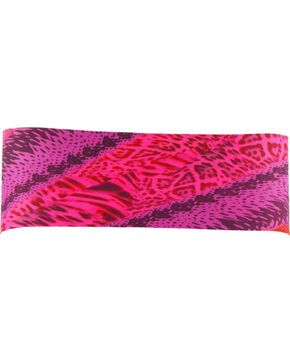 Pink Pewter Animal Stretch Sports Wrap, Pink, hi-res