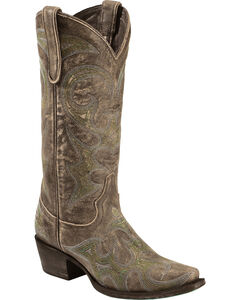Lane Lovesick Cowgirl Boots - Snip Toe, , hi-res