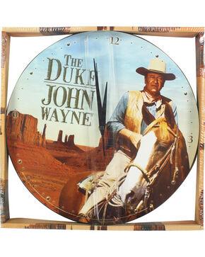 """John Wayne """"The Duke"""" Wall Clock, No Color, hi-res"""
