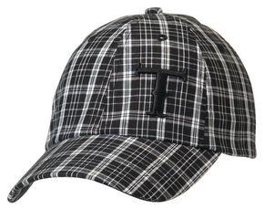 Twister Plaid Logo Cap, Black, hi-res