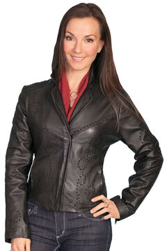 Scully Whip Stitch Lamb Jacket, , hi-res