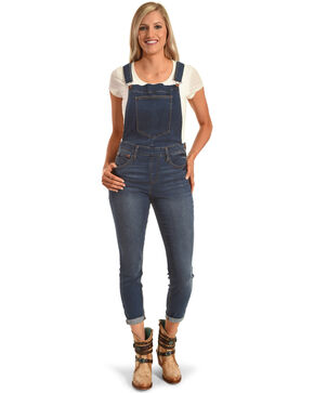 Wrangler Women's Denim Overall - Skinny , Indigo, hi-res