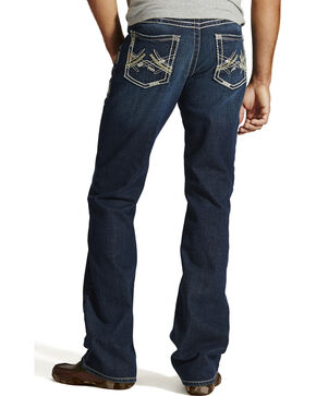 Ariat M6 Maverick Slim Fit Jeans - Boot Cut - Big and Tall, Denim, hi-res
